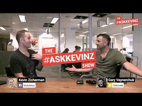 Gary Vaynerchuk Interview with Kevin Zicherman - Tips to Starting Your Own Business