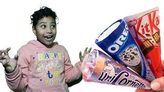مرام سرقت كل الايسكريمات !!!