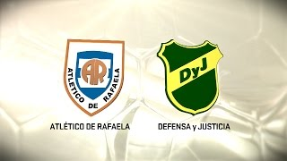 Atl. Rafaela vs Defensa y Justicia full match