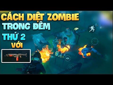 Pubg Mobile | Cách để kiếm được đàn Zombie đông nhất ở đêm thứ 2 – Flame Gun – Sử dụng hiệu quả…