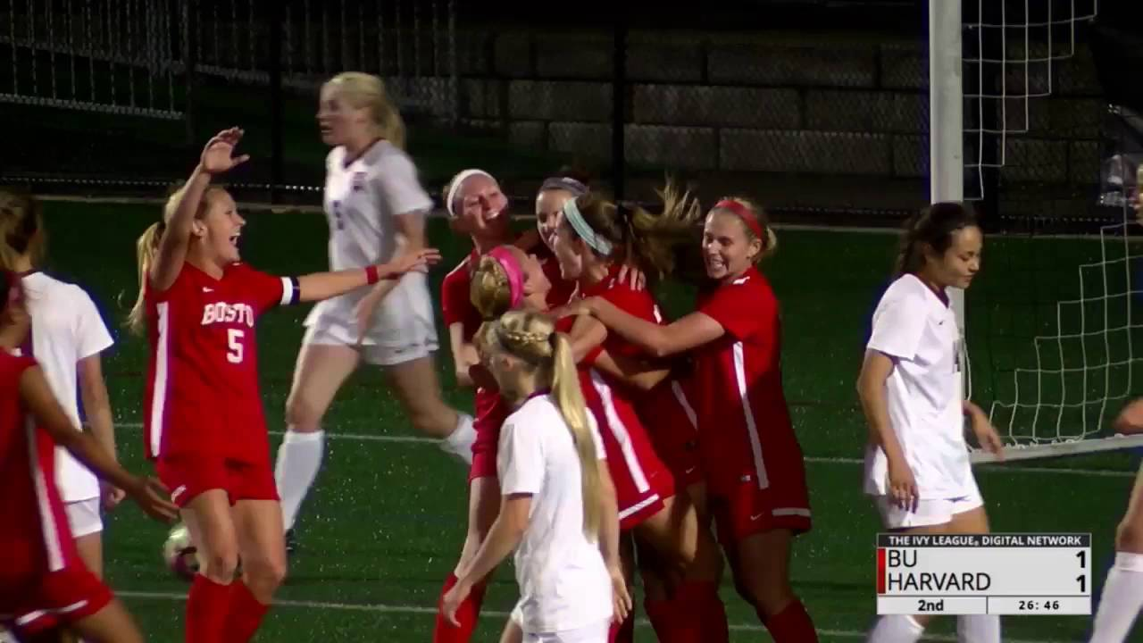 Recap Women S Soccer Vs Boston University Youtube
