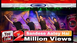 Tribute to Army l Border Song  Sandese Aate Hai  l Paul's Dance Station l Patriotic Dance l