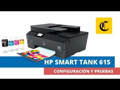 GADGETS | HP | MULTIFUNCIONAL | Smart Tank 615 | ANÁLISIS | Una impresora pensada para el estudio y el trabajo | TECNOLOGIA