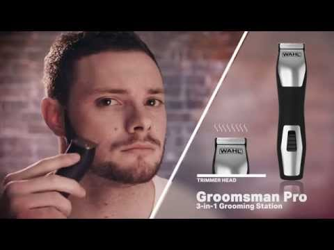 Wahl Groomsman Pro 3 in 1 Trimmer Kit