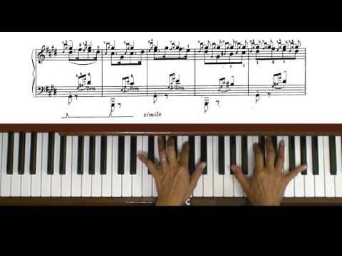 Liszt Hungarian Rhapsody No. 2 Piano Tutorial Part 1 (with score)