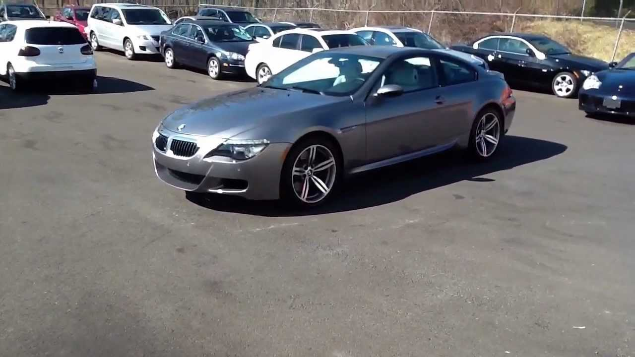REVIEWED Space Grey 2008 BMW M6 V10 Coupe For Sale In