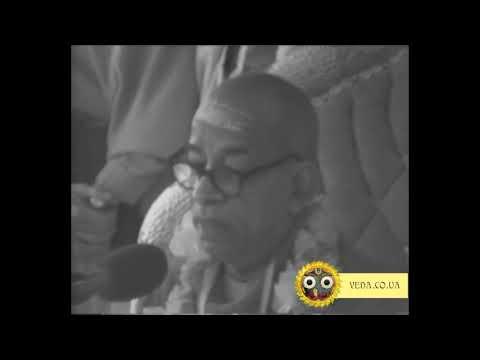 Шримад Бхагаватам 1.8.31 - Шрила Прабхупада
