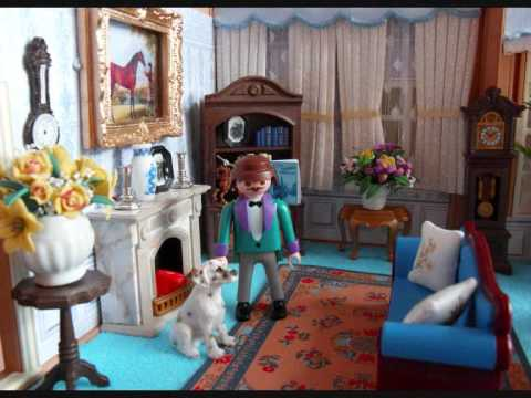 Playmobil by emma j 2 7 09 youtube for Playmobil living room 4282