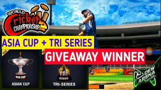 Asia Cup + Tri Series Giveaway Winner & New Giveaway