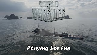 World of Warships - Playing For Fun