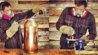 How to Make 5 Gallon Brewing and Distilling Equipment: Time-Lapse