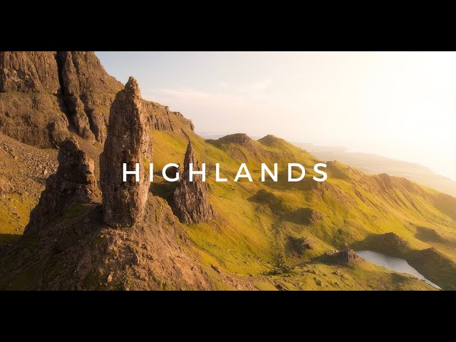 HIGHLANDS / SCOTLAND/ EPIC 4K DRONE VIDEO