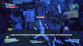 Borderlands 2 - SHOOT ME IN THE FACE Mission/Achievement
