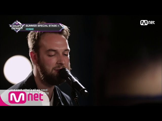 [HONNE - I Got You ◑] Special Stage | M COUNTDOWN 180809 EP.582