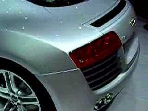 Audi R8 Concept Car at the 2007 LA Auto Show