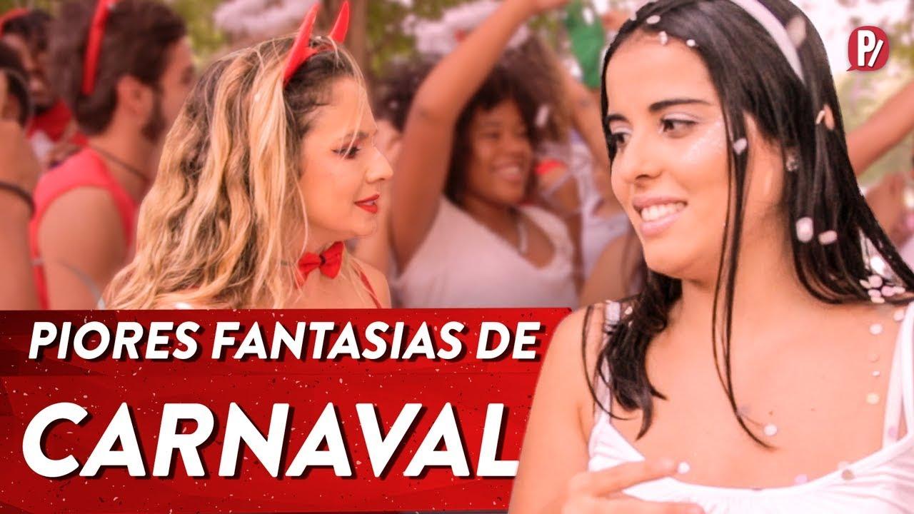 PIORES FANTASIAS DE CARNAVAL   PARAFERNALHA