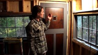 Building A Tiny House #7 - Handmade Front Door