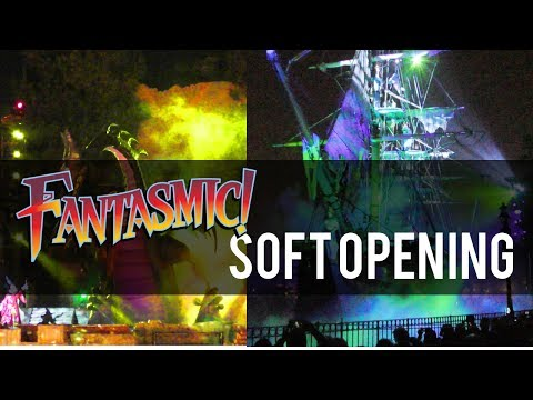 NEW Fantasmic soft opening show - First Look from Soft Opening Saturday Night