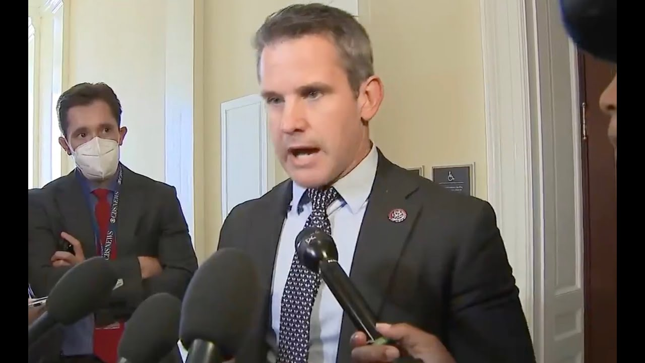 Adam Kinzinger gives PERFECT comeback to his OWN party leader's attack on him
