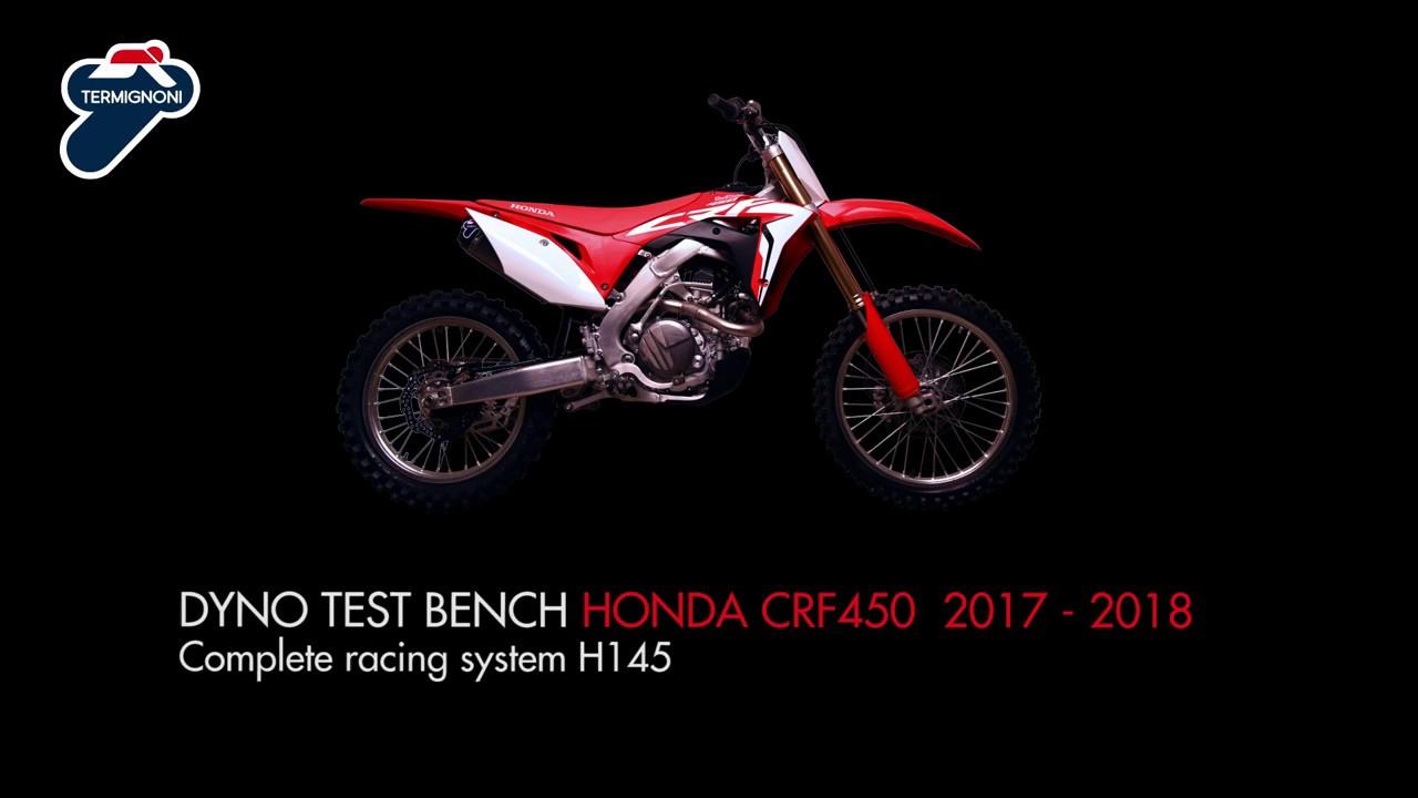 Termignoni Honda Crf 450 Dyno Test Bench Youtube