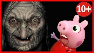 🔴СТРАШИЛКИ НА НОЧЬ ОТ ПАПЫ пирожок с ногтем мультик СТРАШНЫЕ ИСТОРИИ horror pig мультфильм 2018