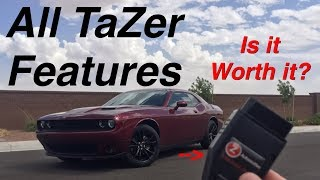 zAutomotive Tazer Setup and Every Feature - Linelock Lightshow etc. on a 2017 Dodge Challenger SXT