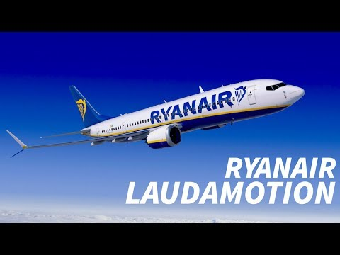 RYANAIR to ACQUIRE 75% of LAUDAMOTION