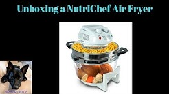 NutriChef PKAIRFR48 Halogen Cooking Convection Oven Air-Fryer/Infrared Cooker Unboxing