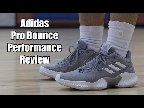 Adidas Pro Bounce 2018 Low Performance