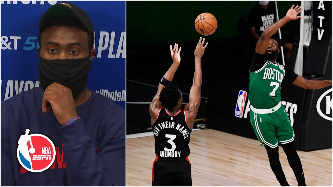 Jaylen Brown after Game 3 loss: 'That was just a f****** disgrace at ...