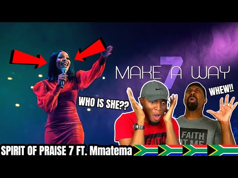 🇿🇦SOUTH AFRICA..WHO IS THIS SANGIN WOMAN?! ANOINTED! Spirit Of Praise 7 Ft. Mmatema - Make A Way