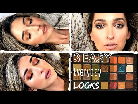 Natasha Denona Metropolis Palette (Round 2) | 3 Easy Everyday Looks thumbnail