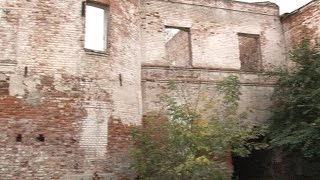 Развалины в центре Моршанска.