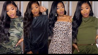 HUGE Cozy Cute Affordable Winter Slim Thick/Curvy Girl Try-on haul ft. Romwe.com Video