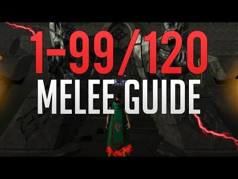 Runescape 3 - 1-99/120 Melee Guide 2019