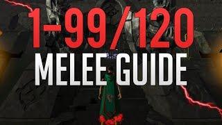 Runescape 3 - 1-99/120 Melee guide 2019