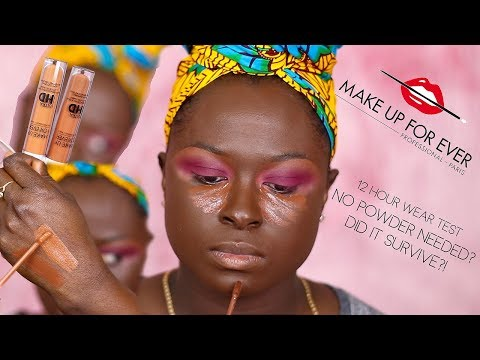 MAKEUP FOREVER ULTRA SELF SETTING CONCEALER ?! NO POWDER NEEDED?!    OHEMAA BONSU