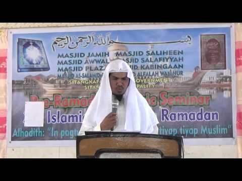 Aqeeda Ahlussunna Waljama'a Part 1 by : Shiekh Abdurajak Alhari
