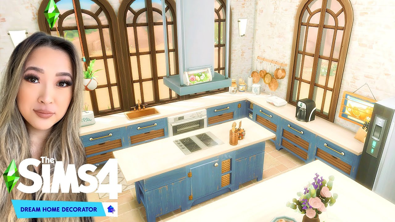 Client Wants A Better Kitchen Than NANCY LANDGRAAB: Sims 4 Dream Home Decorator Let's Play Ep 6