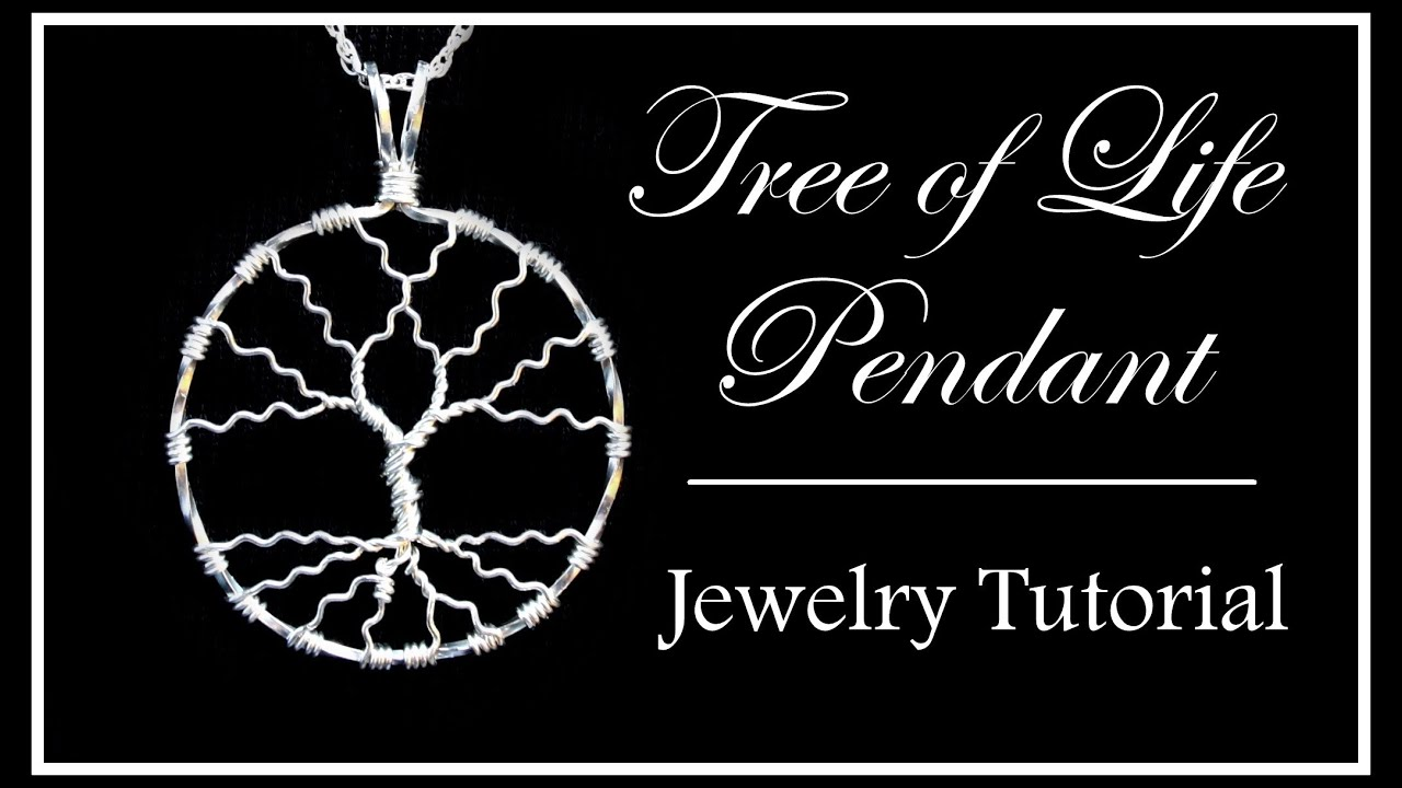 How To Make A Tree Of Life Pendant Easy Wire Wrapped Jewelry