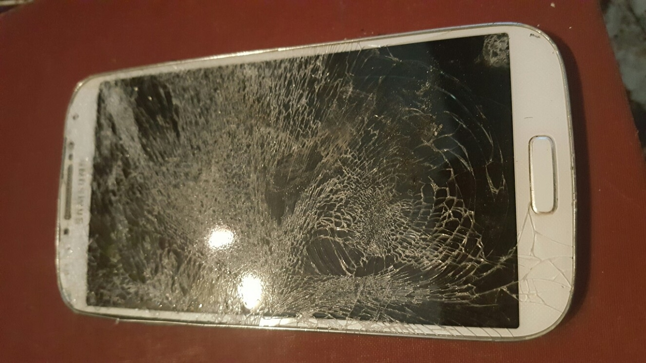 replace cracked glass screen protector