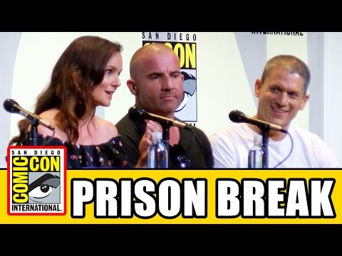 PRISON BREAK Comic Con 2016 Panel  Season 5, Wentworth Miller, Dominic Purcell, Sarah Wayne Callies