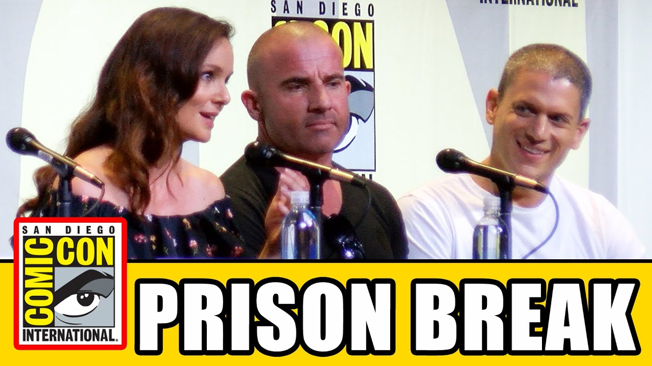 Download PRISON BREAK Comic Con 2016 Panel - Season 5, Wentworth Miller, Dominic Purcell, Sarah Wayne Callies