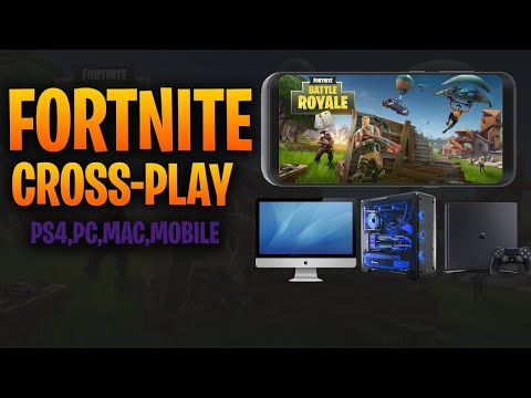 How to add friends from PS4 Xbox or pc from fortnite mobile