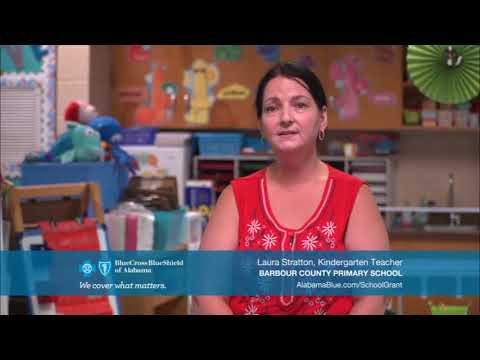 2017 - 2018 Be Healthy School Grant Recipient: #Barbour County Primary School#