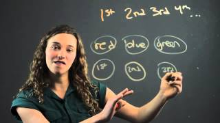 How To Teach Ordinal Numbers In The First Grade Math Concepts