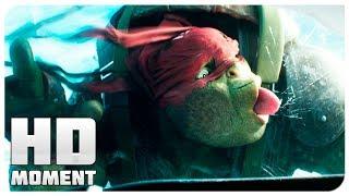 Прыжок с самолета - Черепашки-ниндзя 2 (2016) - Момент из фильма