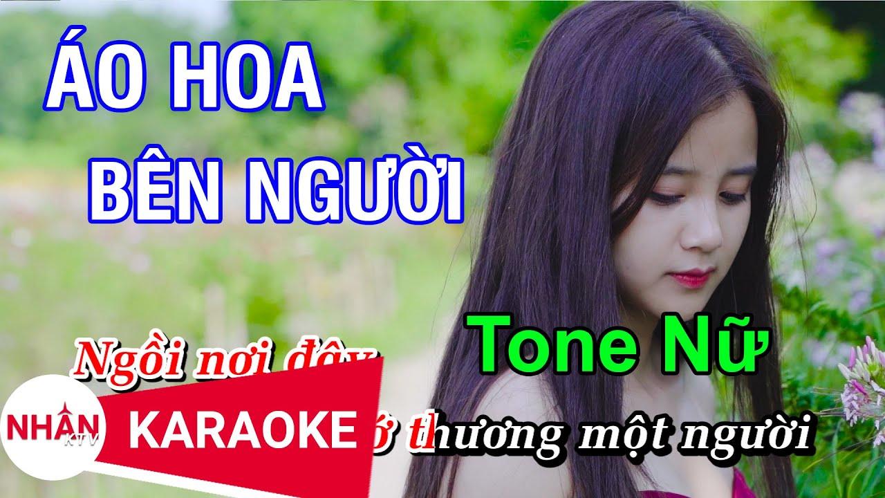 Áo Hoa Bên Người (Karaoke Beat) - Tone Nữ