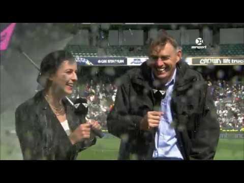 SURPRISE! Sprinklers Soak TV Presenters LIVE ON AIR!   SKY TV