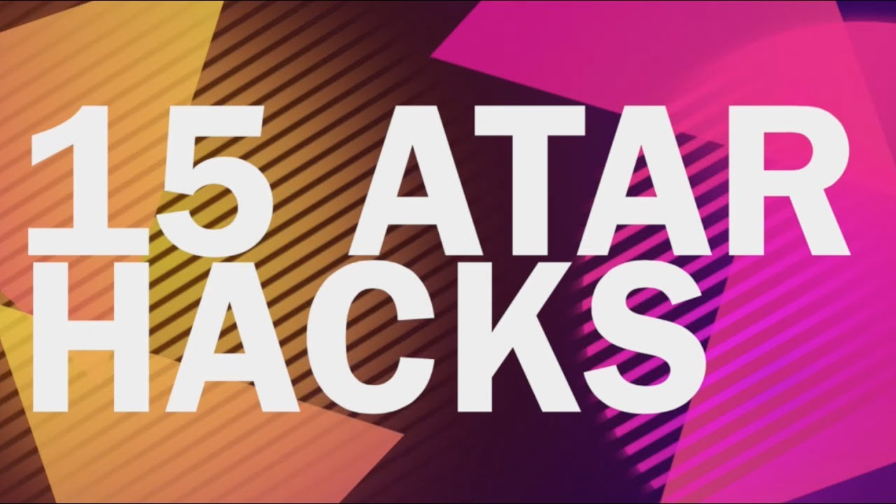 15 ATAR Hacks - How To Make This Year YOUR Year!